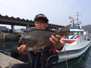 北九州の吉竹さん、43cmクロGET