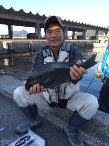 北九州の橋本さん、45cmクロGET