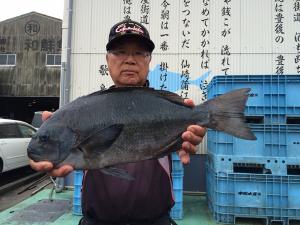 北九州の広吉さん、45cmクロGET