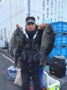 大分の佐藤さん、45cmクロダブルGET