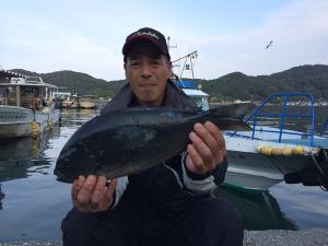 北九州の広島さん、46cmクロGET
