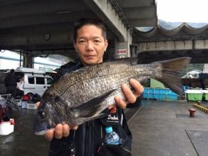 北九州の斎藤さん、48cmチヌGET
