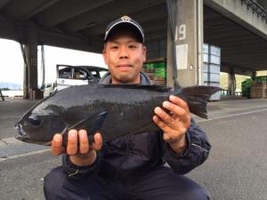 行橋の吉元さん、51.5cmクロGET