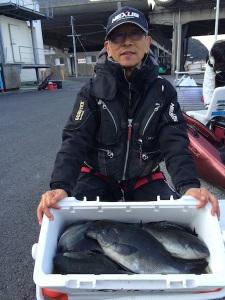 熊本の一本さん、クロの数釣りを楽しんだ