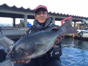 北九州の野村さん、47cmクロGET