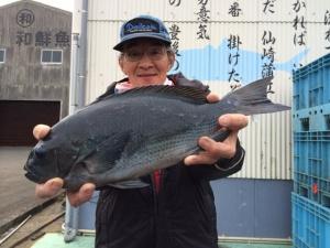 みずほフィッシングの勝原さん、45cmクロGET