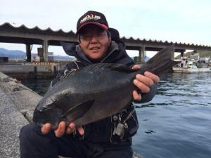 福岡の松村さん、45cmクロGET