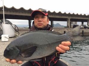 北九州の中本さん、45cmクロGET