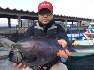 北九州の石川さん、石鯛GET