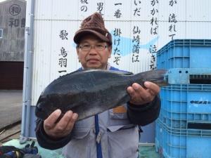 北九州の有田さん、43cmクロGET