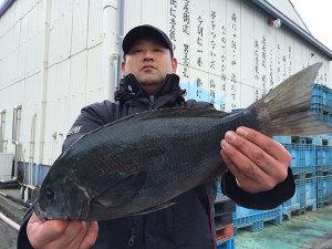北九州の児玉さん、45cmクロGET
