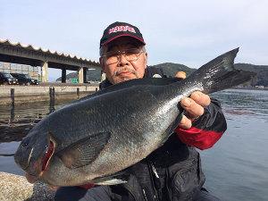 北九州の水瀬さん、49cmクロGET