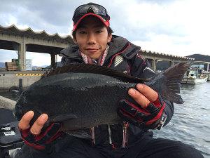 北九州の篠隈さん、50cmクロGET
