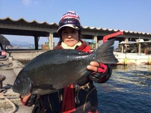 北九州の前田さん、45cmクロGET