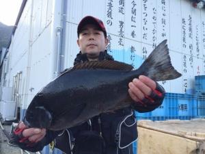 福岡の山本さん、45cmクロGET
