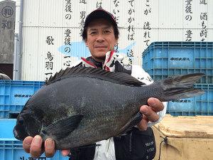 久留米の大塚さん、45cmクロGET
