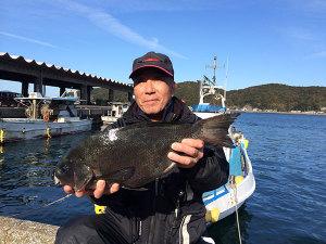 北九州の黒木さん、45cmクロGET