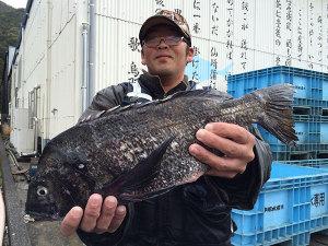 宮崎の小川さん、45cmチヌGET