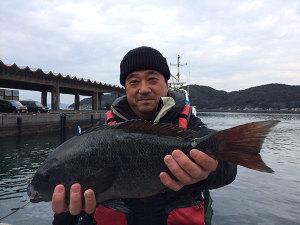 北九州の鈴木さん、46cmクロGET