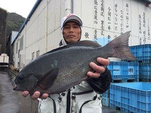 宮崎の谷中さん、44cmクロGET
