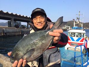 北九州の橋本さん、43cmクロGET