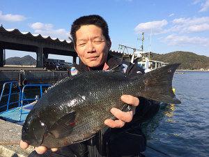 北九州の斎藤さん、44cmクロGET