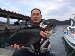 熊本のつる口さん、43cmクロGET