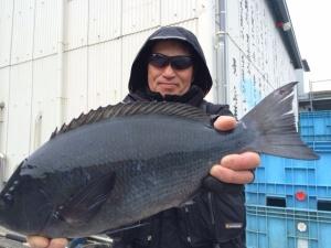 行橋の橋本さん、45cmクロGET