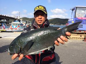北九州の柴田さん、45cmクロGET