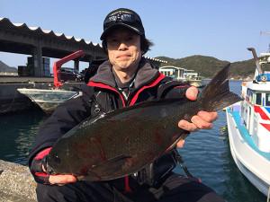 北九州の佐藤さん、45cmクロGET