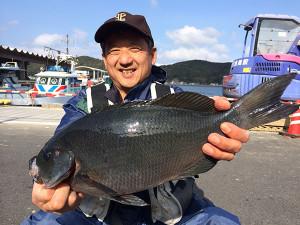 北九州の秋田さん、45cmクロGET