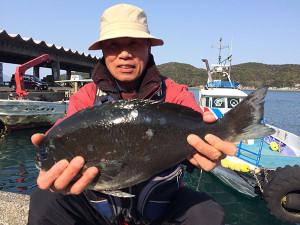北九州の本田さん、45cmクロGET