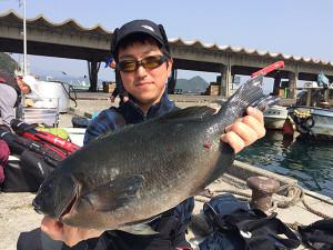 竹田の江藤さん、45cmクロGET