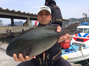 北九州の清成さん、48cmクロGET