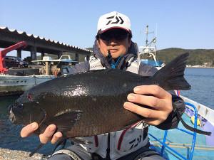北九州の岩渕さん、48cmクロGET