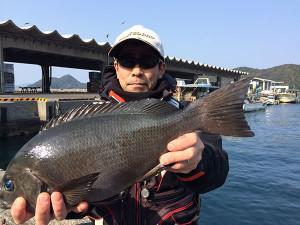 北九州の内田さん、48cmクロGET