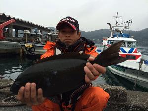 中津の田中さん、45cmクロGET