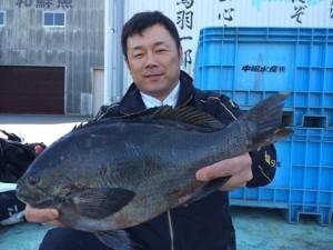行橋の上田さん、45cmクロGET