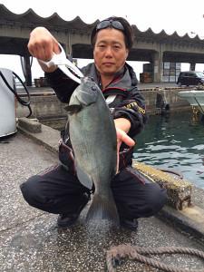 佐伯市の池田さん、48cmクロGET