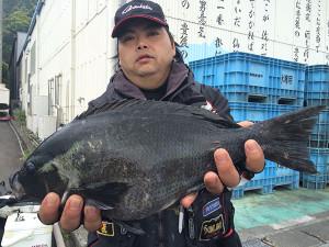 行橋の藤井さん、46cmクロGET
