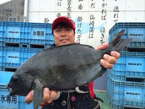 北九州の長野さん、45cmクロGET
