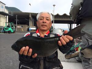 大分の篠田さん、45cmクロGET