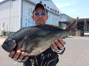 北九州の巴山さん、45cmクロGET