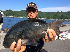 北九州の長松軒さん、45.5cmクロGET