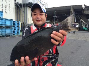 熊本の瀬崎さん、45cmクロGET