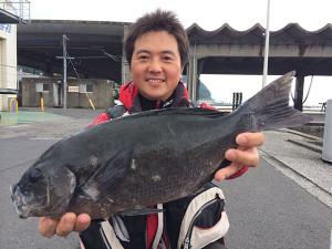 熊本の内村さん、45cmクロGET
