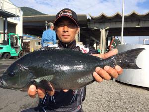 大分の岡田さん、45cmクロGET
