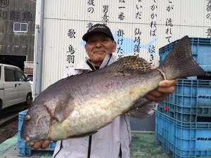 野津の姫嶋さん、58cmコロダイGET