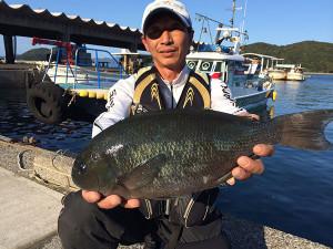 北九州の加藤さん、45cmクロGET