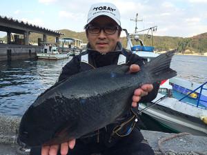 北九州の清成さん、46cmクロGET